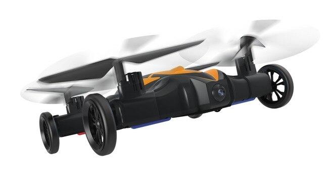 Air-Land Amphibious Car Drone LH-X21 2.4G 6CH 6Axis Gyro Airphibian RC Quad Drone Flying Toys Car with 3D Flip Professional Rc