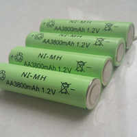 DING LI SHI JIA 12 stücke AA 3800mAh 1,2 V Akku NI-MH 1,2 V batterien Wiederaufladbare 2A Batterie