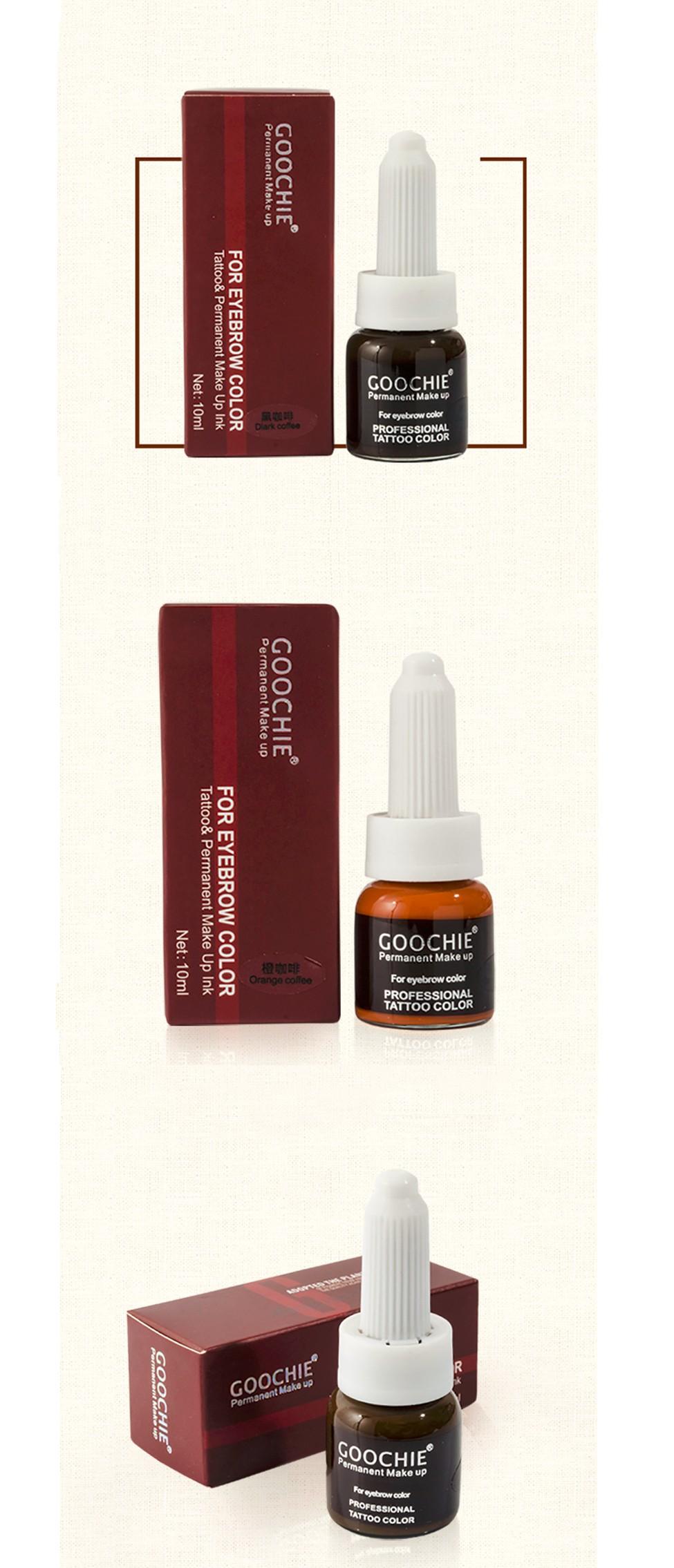 goochie permanentmakeup pigment
