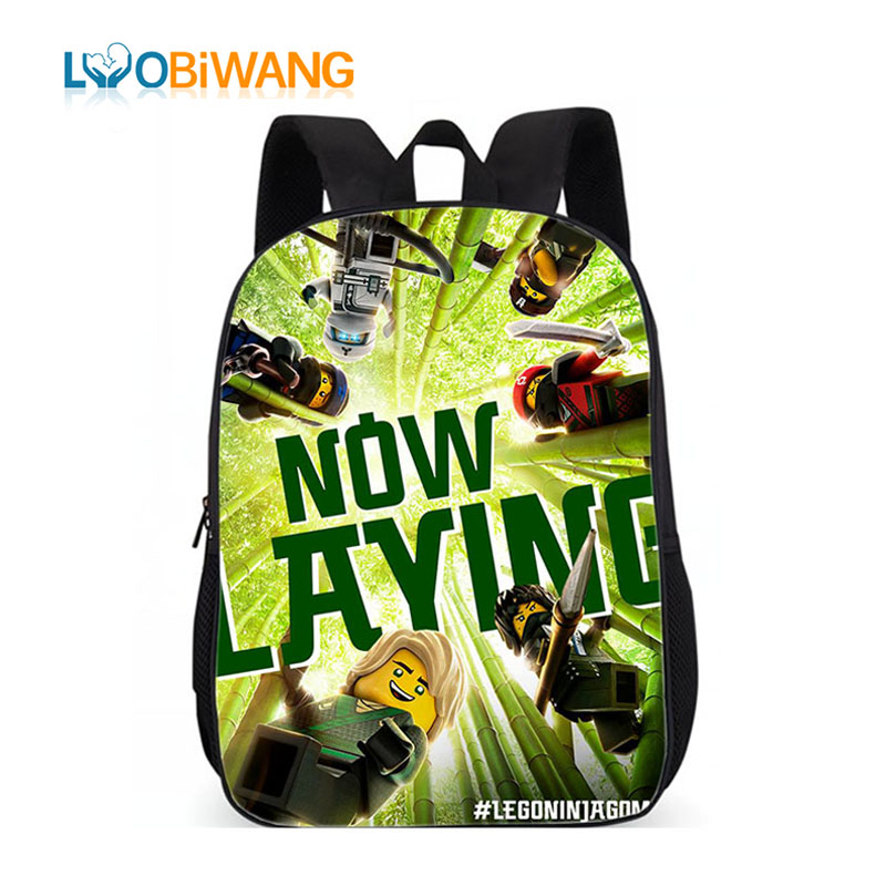 Luggage & Bags Luobiwang Popluar Movie Ninjago Print Children Backpacks For Teenage Girls School Bags Book Bags For Kids Boys Spare No Cost At Any Cost
