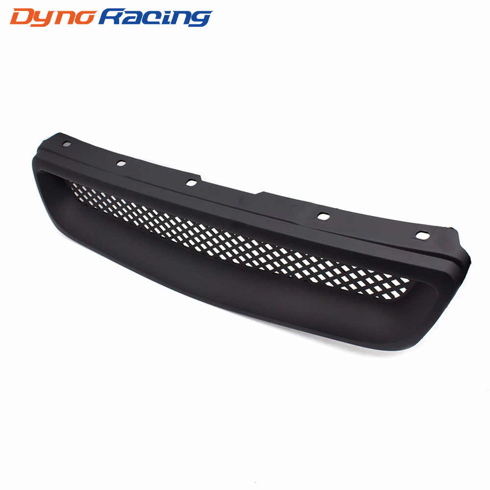 Racing Black Car front grill ABSType R Grills Grille for 1996-1998 Honda Civic YC101065
