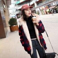 Women Fur Coat 2017 Winter New Design Imitation Fox Fur Coat Europe Luxury Women Both Sides