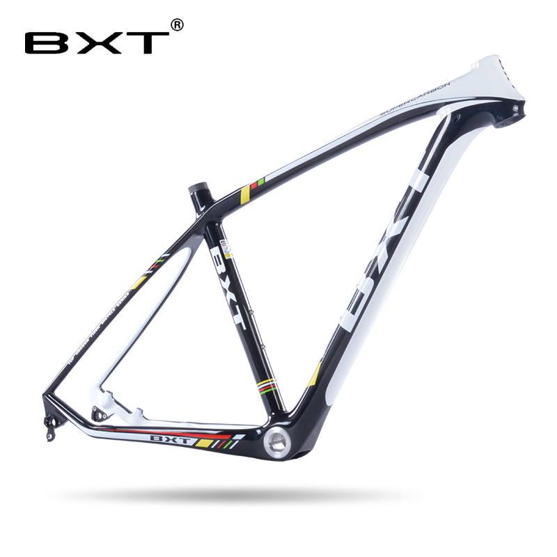 Updated 2018 T800 carbon mtb frame 29er with fork to match 29 full carbon mountain bike frame 17 19inch 31.6mm seatpost