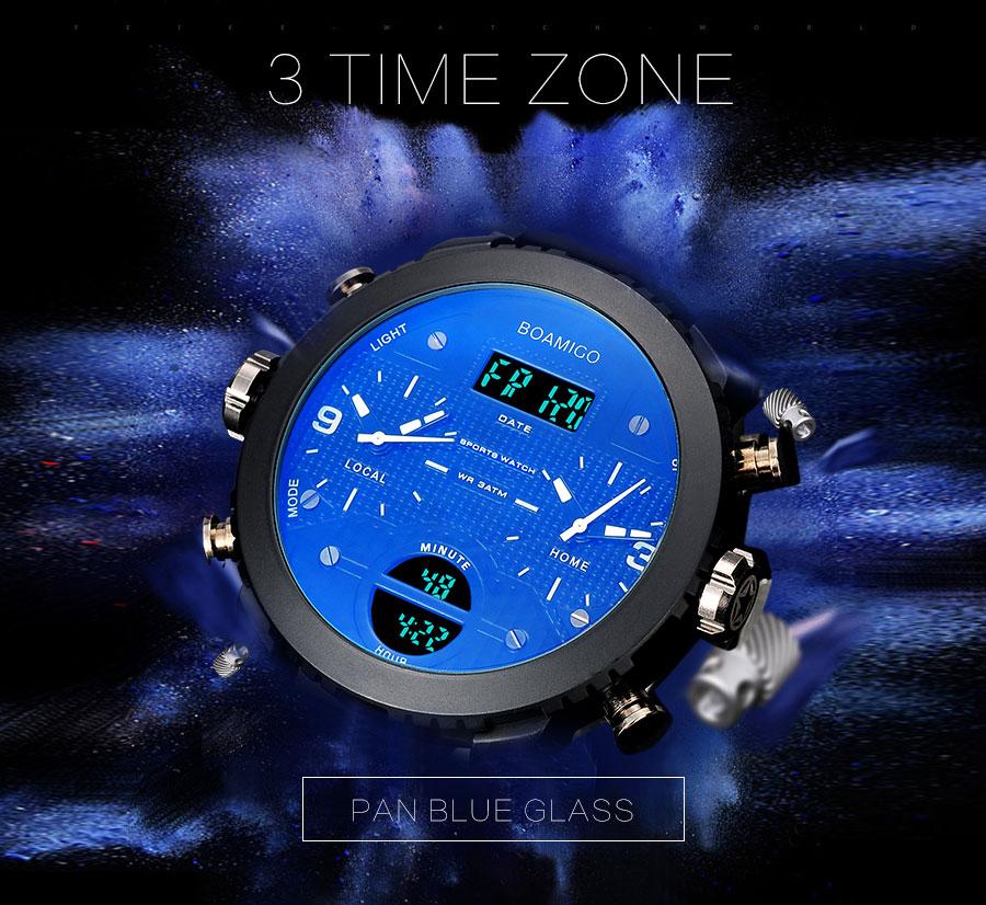 HTB1dMD7XIyYBuNkSnfoq6AWgVXat men watches BOAMIGO brand 3 time zone military sports watches male LED digital quartz wristwatches gift box relogio masculino