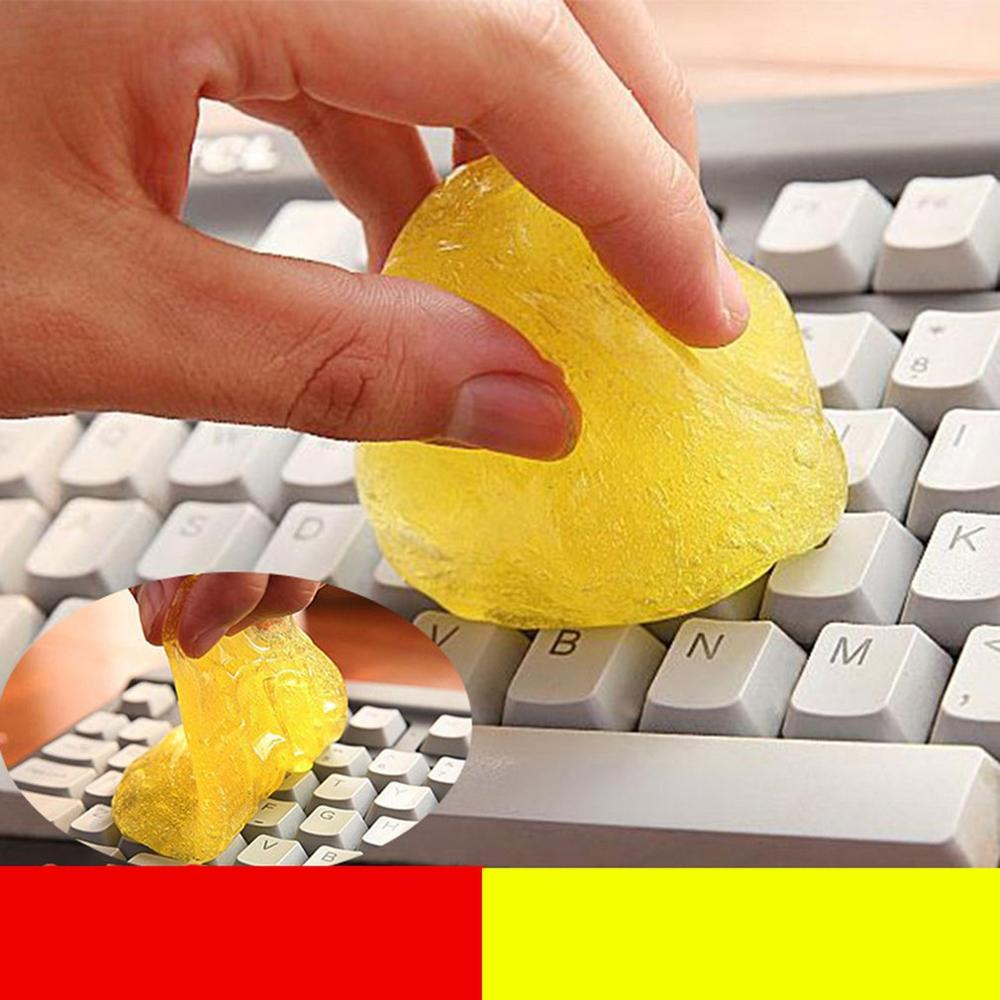 Keyboard Cleaner Universal Cleaning Glue High Tech Cleaner Keyboard Car Wipe Clean Slimy Gel For Phone Laptop Keyboard