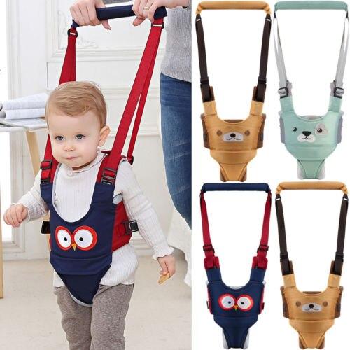 Baby Girl Boys Firm Walker Assistant Harness Safety Belt Leashes Toddler Infant Body Belt Walking Wing Infant Kid Safe Harness