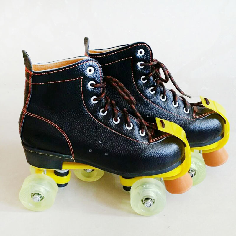 NEW Unisex Adult Classic Quad Roller Skates Boots Outdoor ...