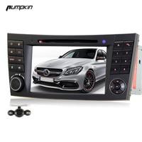 Wince 6 0 Double DIN Car DVD GPS Stereo Camera For Benz E Class Car DVD