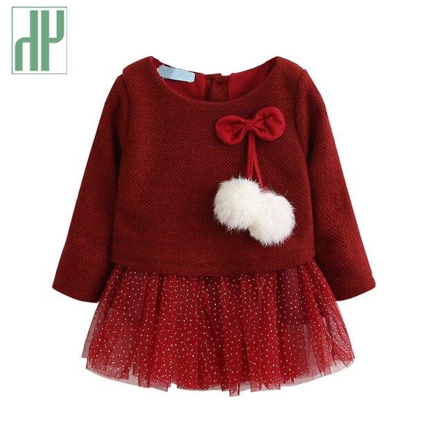 Aliexpress Buy Baby Girl Dress Knitting Princess Dress Spring