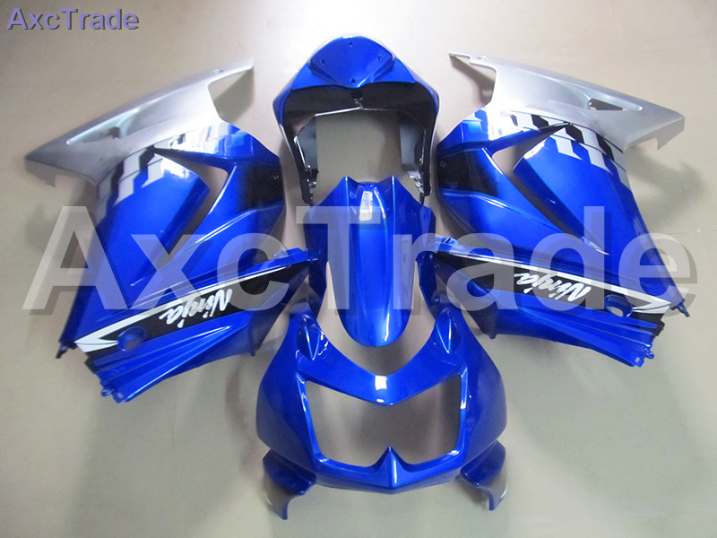 Moto Motorcycle Fairing Kit For Kawasaki Ninja 250 ZX250 EX250 2008-2012 08 - 12 ABS Plastic Fairings fairing-kit Blue White moto motorcycle fairing kit for kawasaki ninja zx10r zx 10r 2008 2009 2010 08 09 10 abs plastic fairings fairing kit white black