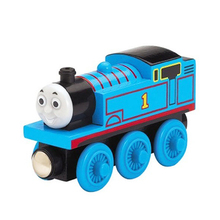 wooden font b toys b font thomas train Magnetic thomas and friends Wooden Model Train for
