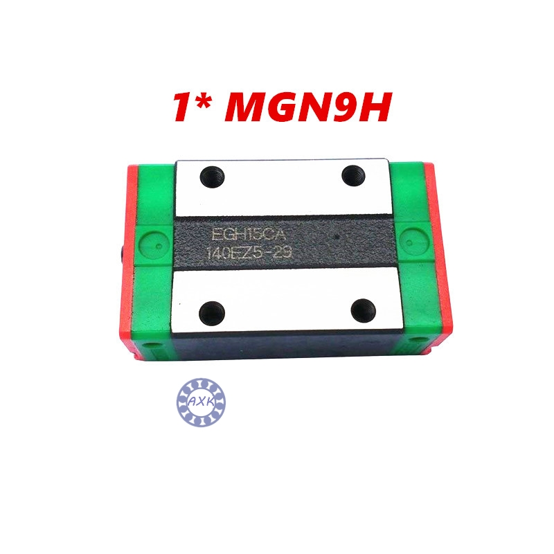 Free shipping MGN9H block for MGN9 9mm Linear Guide  9mm linear rail way Long linear carriage for CNC X Y Z Axis бордр cersanit eilat multicolor 5x45