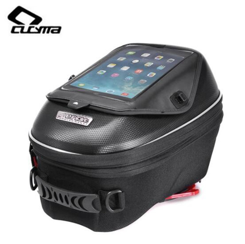 CUCYMA Motorcycle Bag High capacity Moto Bag Motorcycle Tail Bag Motorcycle Quick Release Buckle Multi function Fuel Bag
