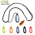 New Water Drop-shaped Silicone Necklace Pendant Case for Xiaomi Miband 1S / MI BAND Smart Bracelets
