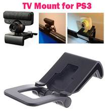 Adjustable TV Clip Bracket Mount Holder Stand For Sony Playstation 3 for PS3 Move Controller Eye Camera(China)