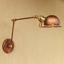 Sconce Loft Vintage Wall Light Fixtures With Swing Long Arm Wall Lamp Edison Industrial Wall Lights Applique Muralce Luminaire iwhd white swing long arm wall lamp vintage bedroom bathroom mirror industrial loft style retro wall lights fixtures edison led