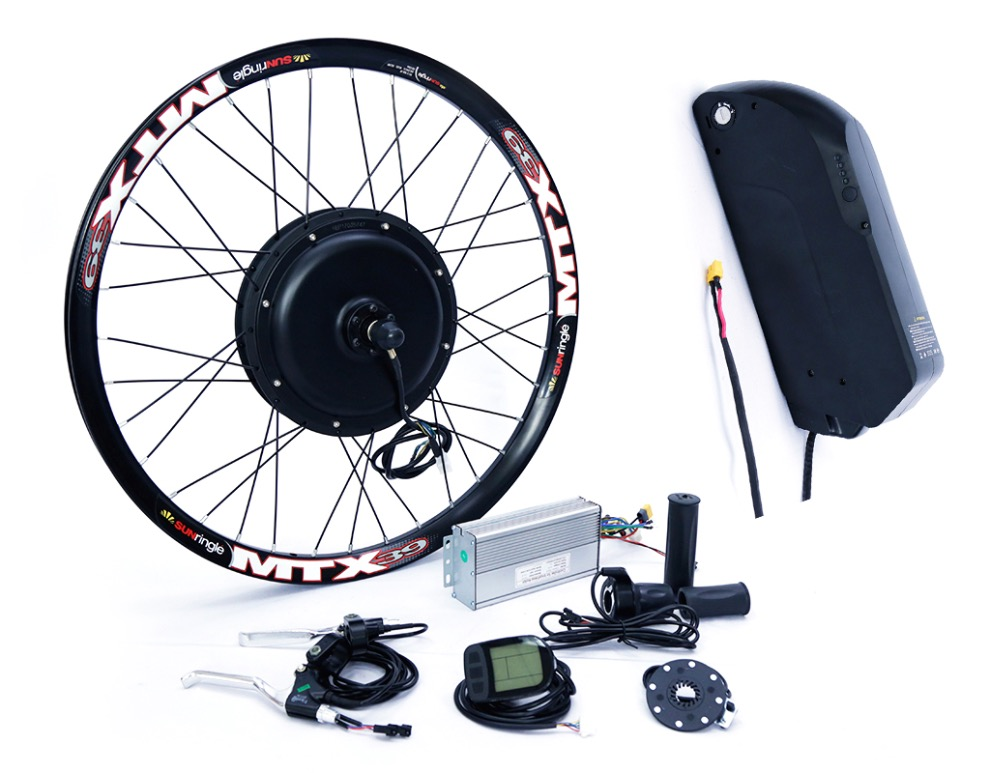 Color Display E BIKE 52V 1500W Motor Electric Bike Kit Electric Bicycle Conversion Kits for 20 24 26 700C 28 29 Rear Wheel sale free tax conhismotor 36v 1200w 48v 1500w 26 rear wheel ebike conversion kits for electric bicycle eu free shipping