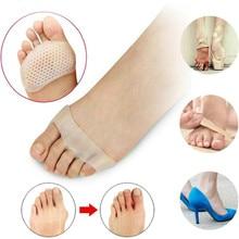 Силиконовый разделитель для большого пальца подушечки для ухода за ногами инструмент высокий каблук амортизация противоскользящая метатарзальная подушка для ног