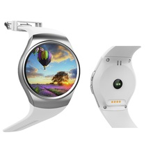 Pulsmesser runde kw18 smart watch gsm sim tf smartwatch armbanduhr uhr für ios android samsung huawei htc männer frauen
