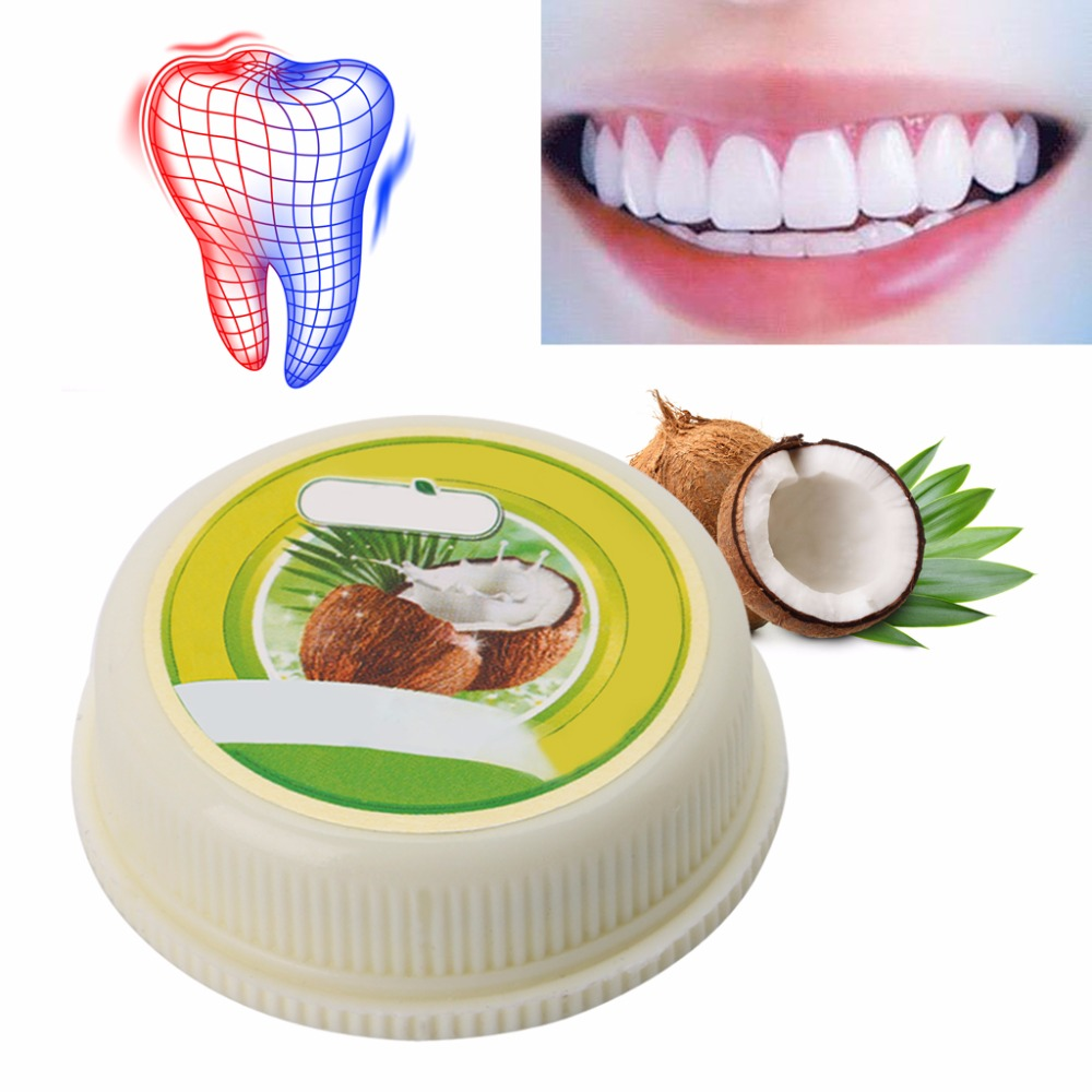 10g Thailand Coconut <font><b>Toothpastes</b></font> Herbal Clove <font><b>Toothpaste</b></font> Teeth Whitening Care