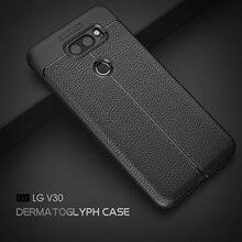 цена на VOONGSON For LG V30 Case LG H930 H933 Back Shell TPU Phone Cover ShockProof Soft Silicone Cover Cases For LG V30 Plus V30 +