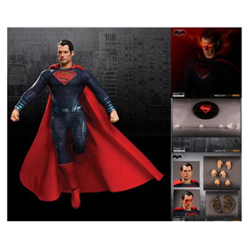 Mezco DC Superman One:12 Collective 6 Action Figure Free Shipping dc one интернет магазин