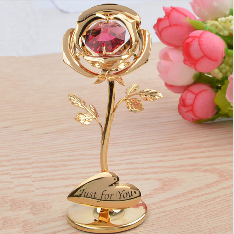 2019 Mothers Day Gift Ideas Presents Gifts Just For You Rose with Swarovski Crystal Jewelry Packaging Display in Jewelry Packaging Display from Jewelry Accessories