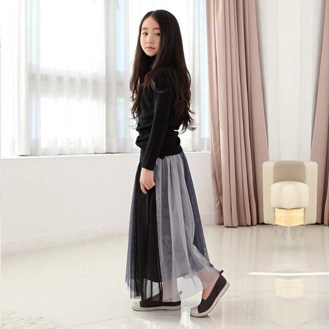 2017 little girl fashion trend elegant Korean princess skirt tide children essential