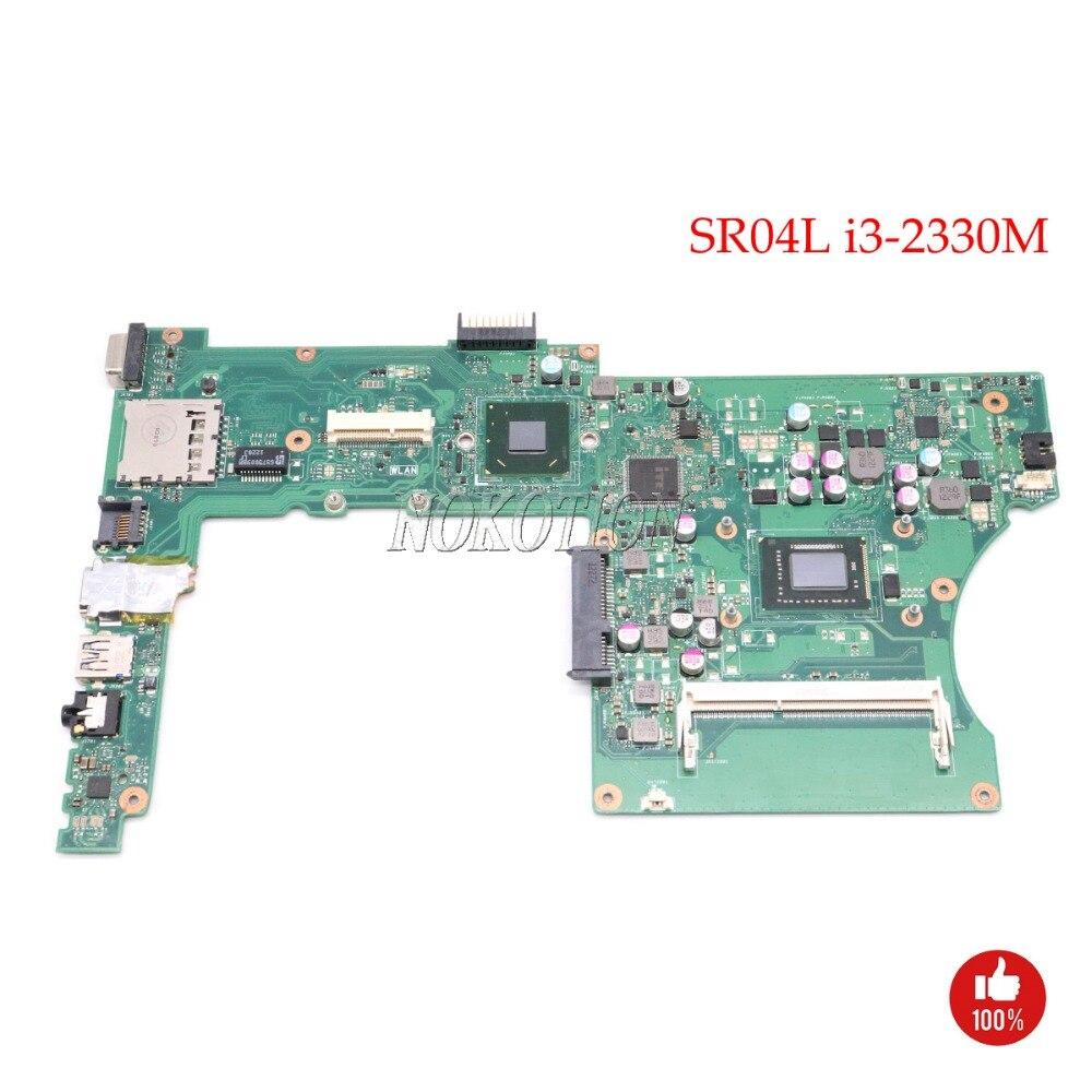 все цены на NOKOTION Laptop Main board for asus X401A 60-NN0MB1600 SR04L i3-2330M Main board full tested онлайн