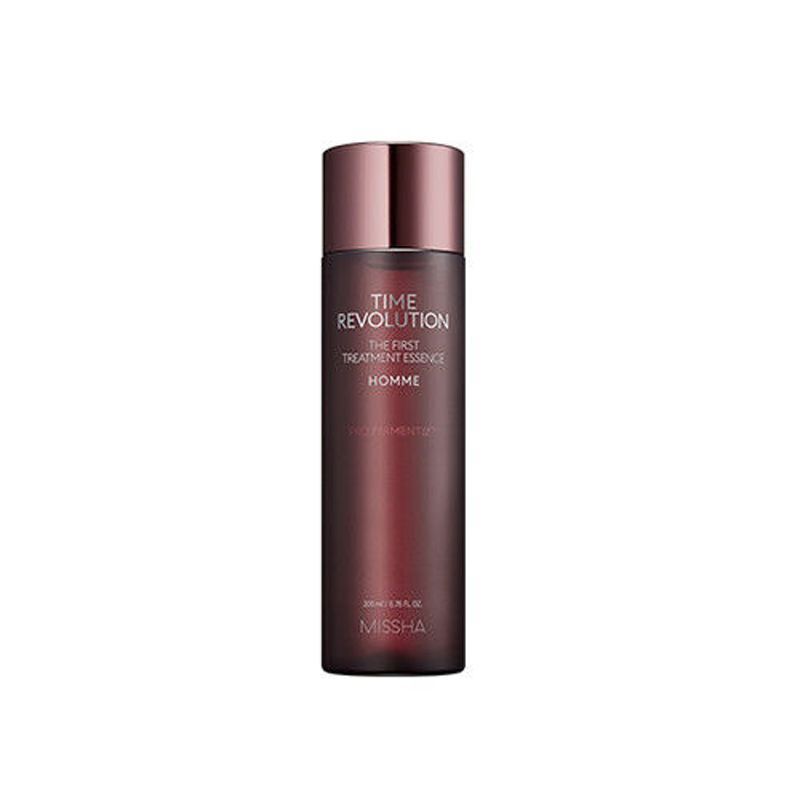 MISSHA Time Revolution The First Treatment Essence Homme 200ml Facial Serum Moisturizing Face Cream Sebum Control