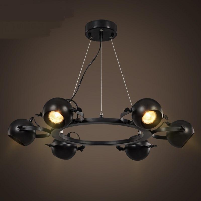 Led Pendant Shop Lights: Living Room Led Pendant Lights Spotlights American