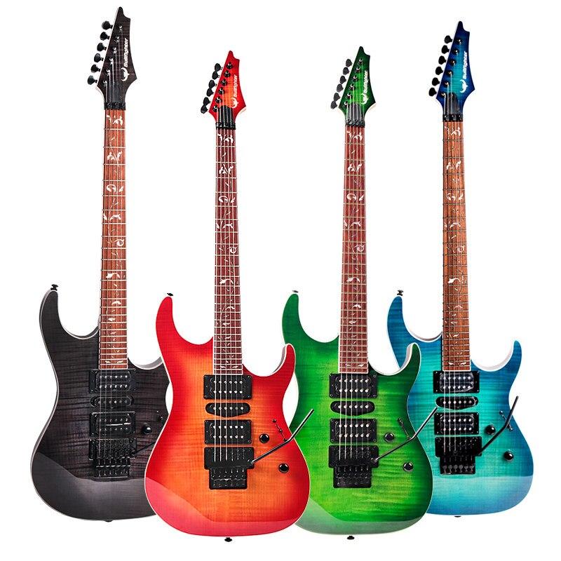 Guitare électrique B100 Double Rock ensemble de guitare électronique qualité professionnelle