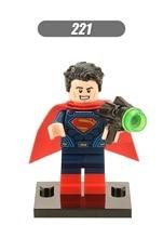XINH 221 DC Super Heroes Batman vs. Superman Minifigures Building Blocks Superman Single Sale Sets Model Bricks Toys