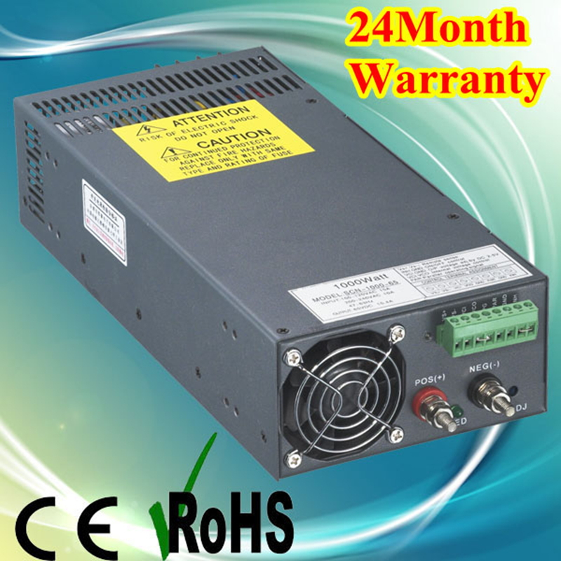 1000W 48V 20A 110V input Single Output Switching power supply for LED Strip light AC to DC Rohs CE certificate