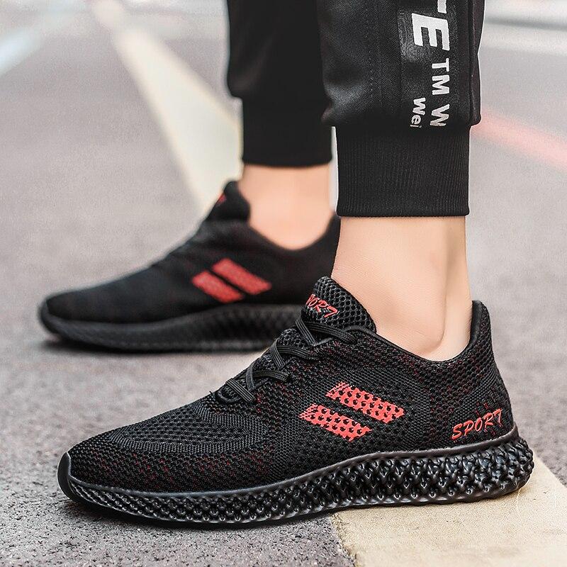 US $17.16 34% OFF|SENTA Mesh Männer Schuhe Atmungsaktiv Casual Schuhe 2019 Sommer Mode Männer Turnschuhe Männlichen Designer Trainer Man Walking