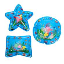 Inflatable Water Mat Star - Shaped Baby Inflatable Water Pad Soft Play Mat water Cushion ฤดูร้อนของ(China)