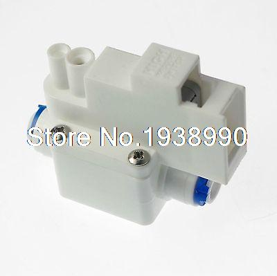 1PCS  Reverse Osmosis Tank High Pressure Switch Aquarium RO Water 1 4 OD Connect 2 pcs water filter parts 1 4 tank ball valve for tube quick connect switch water purifier ro reverse osmosis system
