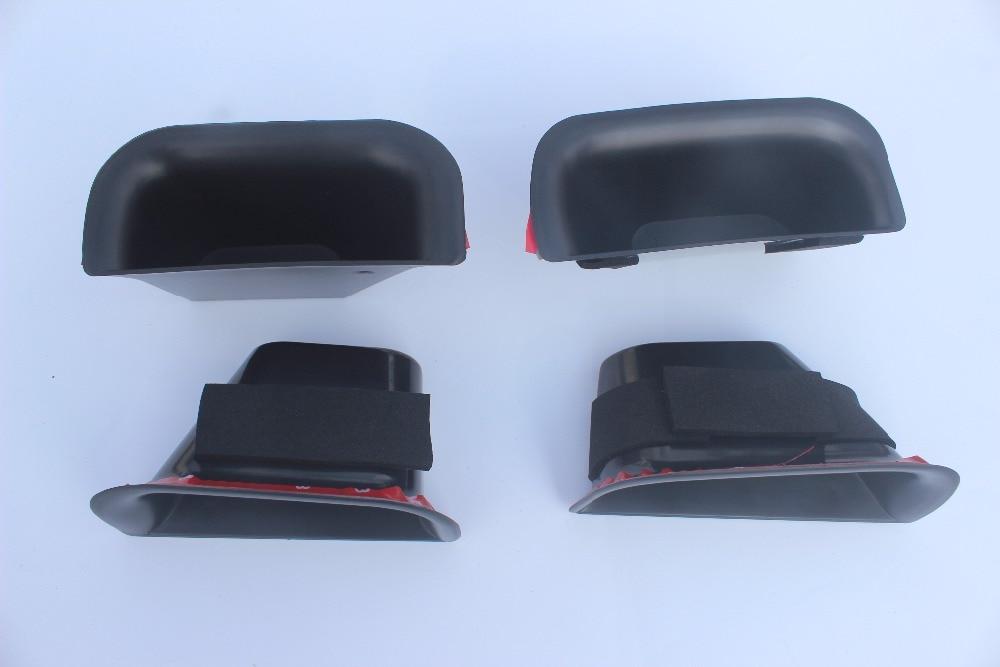 Luhuezu 4PCS ABS Ավտոմեքենաների ներքին դռան - Ավտոմեքենայի ներքին պարագաներ - Լուսանկար 4