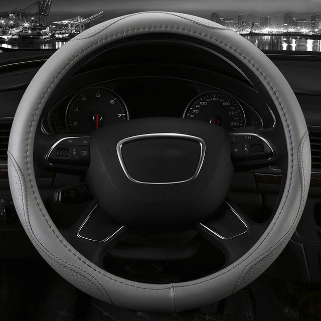 Online Shop Genuine Leather Car Steering Wheel Cover Five Colors For - Acura steering wheel cover