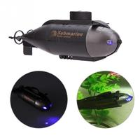 Mini 2 CH RC Racing Submarine Boat R C Toys With 40MHz Transmitter Black RC Submarine