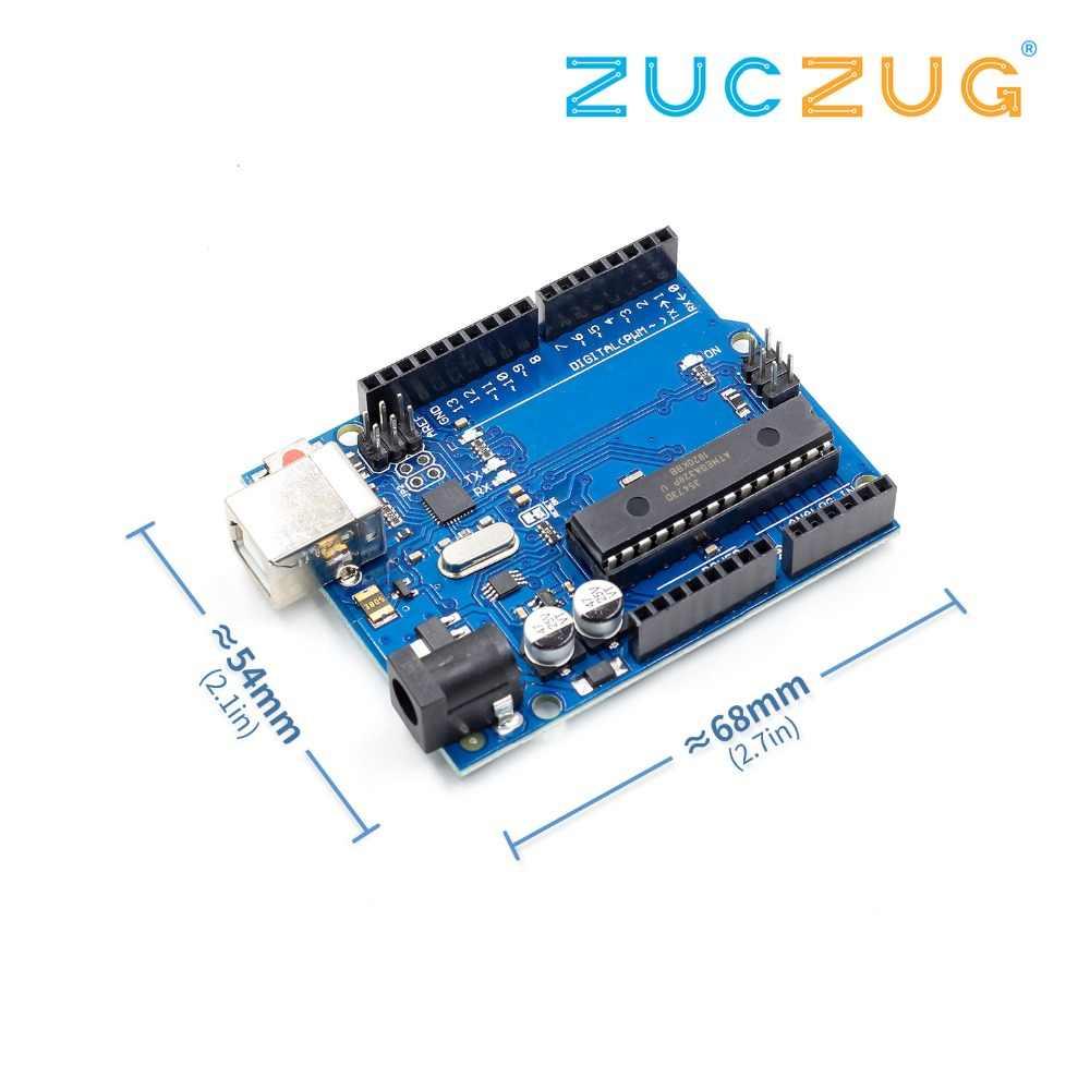 1set uno r3 MEGA328P ATMEGA16U2 pour Compatible sans câble USB