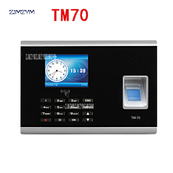 Office Equipment Tcp/ip Biometric Fingerprint Identification Terminal Time Attendance Machine TM70 Fingerprint network U
