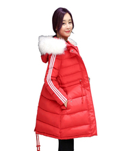 2017 Pregnant Women loose Maternity Winter Coat Jacket Maternity long Winter Jacket Thick Padded Down cotton-padded Down jacket