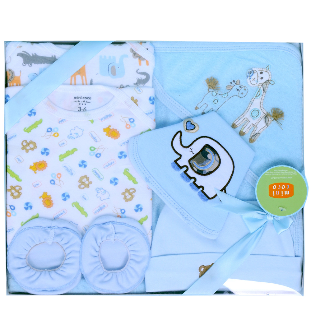 8 Pieces High Quality Cotton Newborn Baby Gift Set Baby Clothing ...