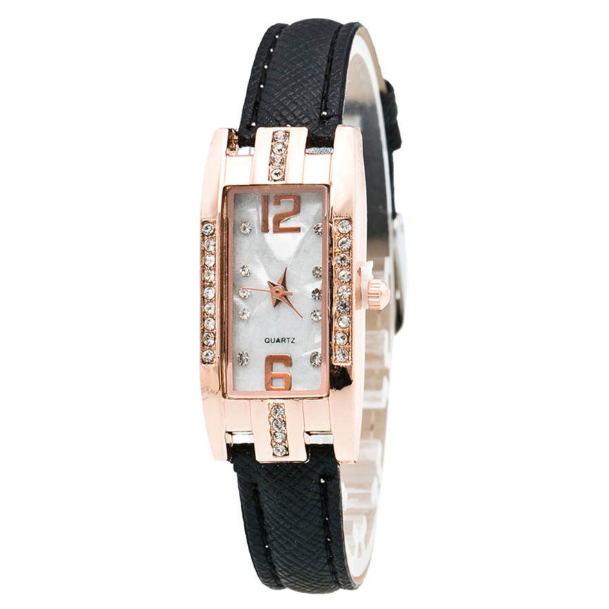 OTOKY reloj Quarz Damenuhr Mode Diamanten Kleid Damen Lässig - Damenuhren - Foto 4