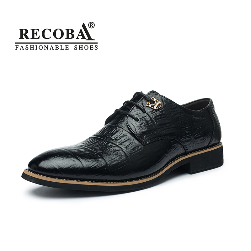 Men casual shoes luxury genuine leather business formal party wedding dress brogues oxfords derby shoes for men zapatos hombre vintage men dress shoes real genuine leather men s brand designer for party office wedding casual walking formal business shoes