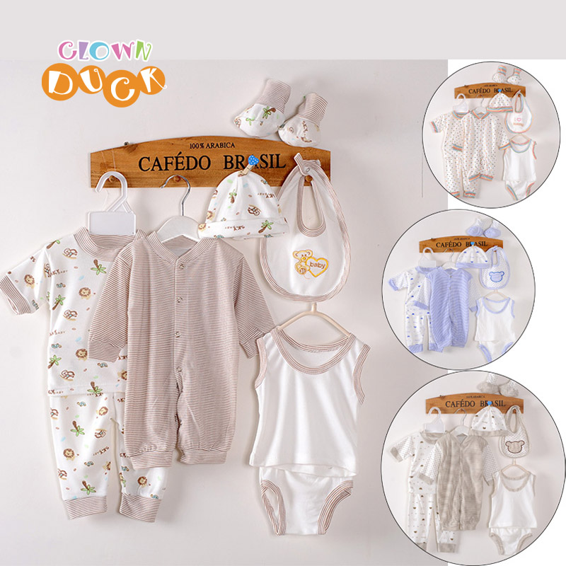 (8pcs/set) Baby Clothing For Newborns 0-6M Brand Baby Boy/Girl Clothes Baby Clothing Set Cotton Set Suit Breasted Underwear