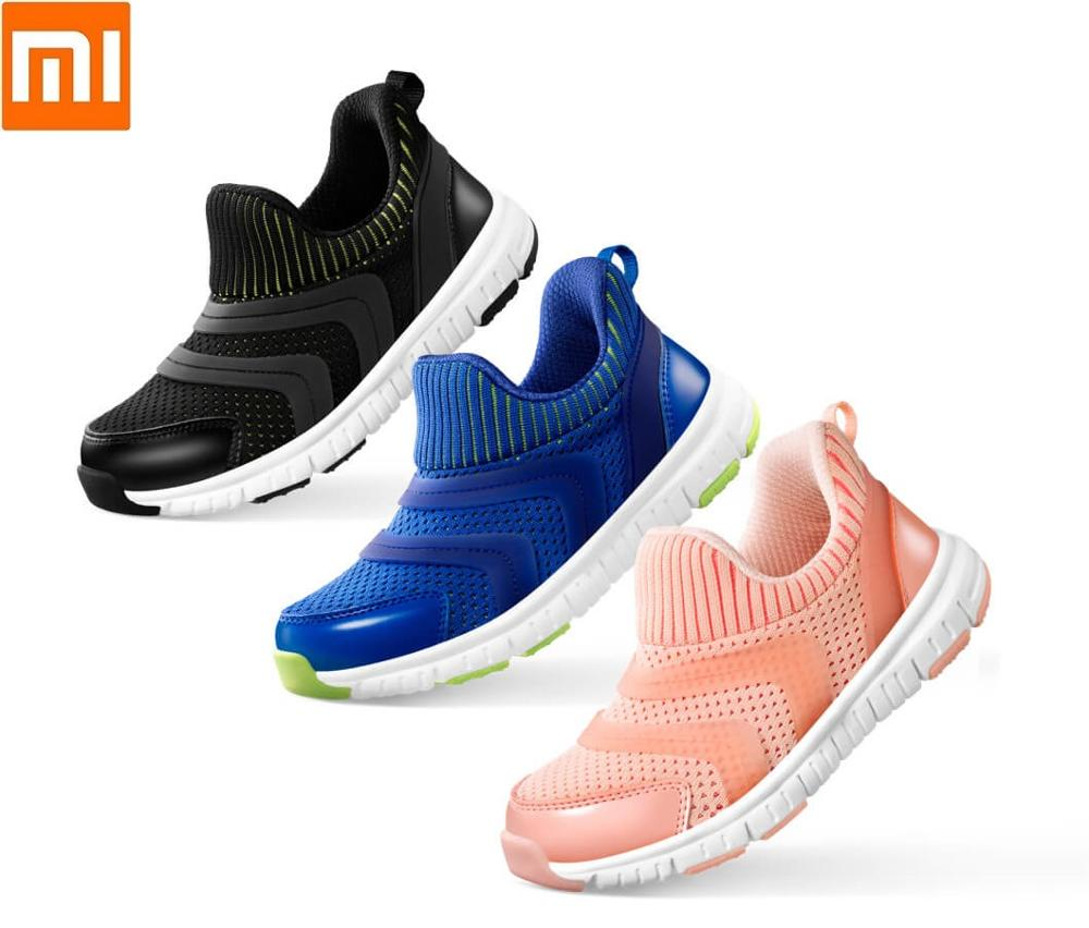 Xiaomi Youpin Lightweight Children's Sneakers High-elastic EVA Bottom Flying Weaving Breathable Non-slip Sports Shoes For Child