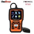 2017 mais novo obd2 foxwell nt301 multi-idioma auto fault diagnostic scanner leitor de código de carro analisador scanner nt301 frete grátis