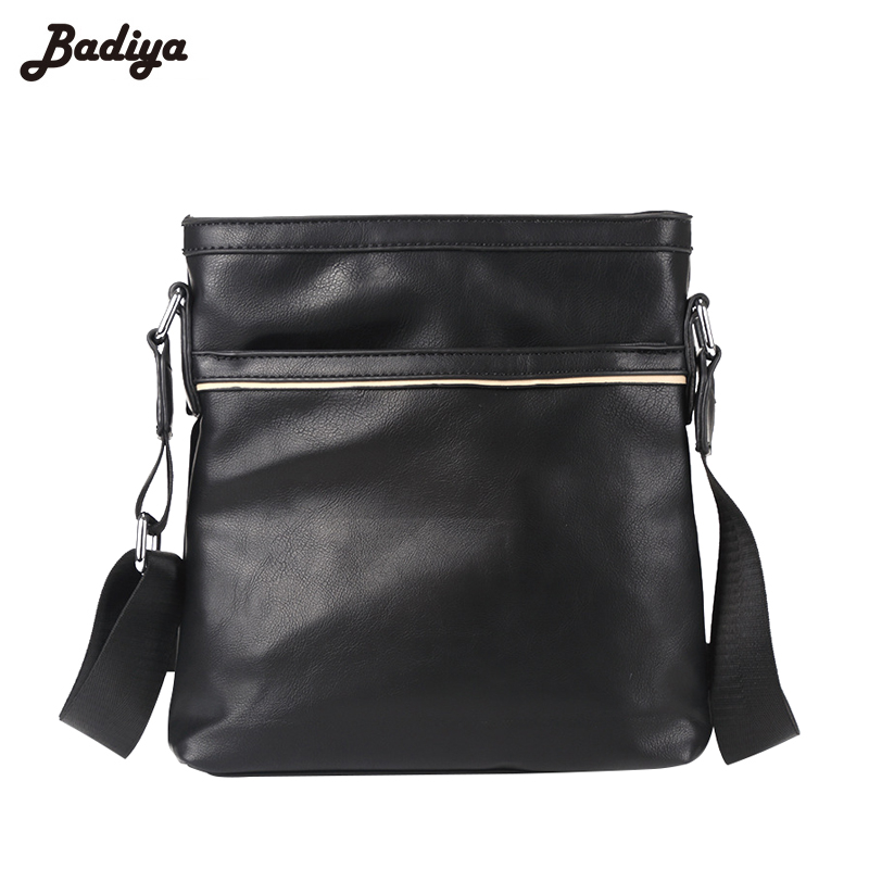 Casual Messenger Bags for Men Flap Crossbody Solid PU Leather Large Capacity Travel Bags Zipper Phone Bags Purse Male Bolsas Sac men messenger bags high quality soft pu leather handbag for men large capacity travel bags business top vintage male crossbody